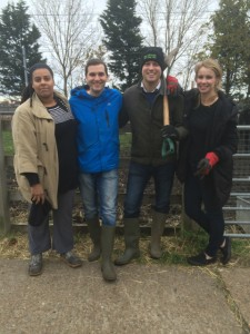 Oliver Cooper at Kentish Town City Farm small