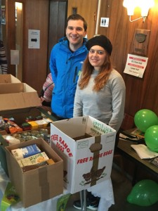 Oliver Cooper with Natalie Eliades at Hampstead Synagogue small