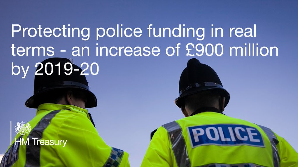 Protecting police funding in real terms